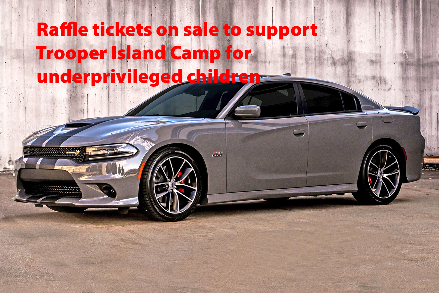 Dodge dodge charger rt horsepower : KSP Selling Raffle Tickets For Dodge Charger R/T 392 | The Lake News
