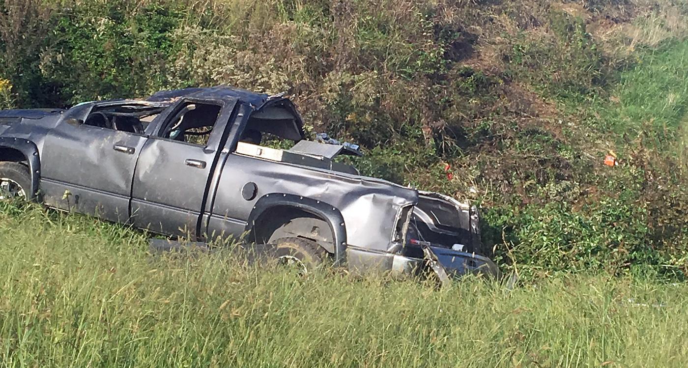 benton man injured in rollover crash | the lake news